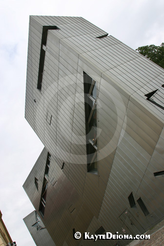Daniel Libeskind's Jewish Museum Berlin building, Berlin, Germany