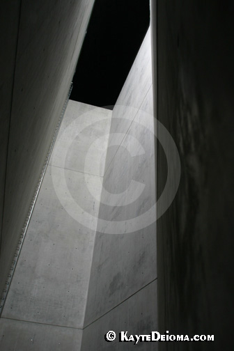 The Void, at the Jewish Museum Berlin is architect Daniel Libeskind's statement about the void left in Berlin in culture without the German Jews.