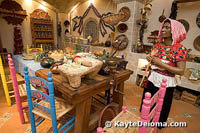 The Puebla Kitchen at the Mexican Folk Art Museum in Cancun.