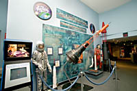 The John Glenn Gallery at the NASA Glenn Research Center in Cleveland.