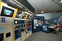 The Microgravity Laboratory Exhibit at NASA Glenn.