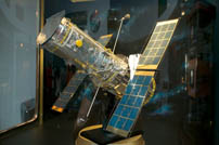 A Satellite exhibit at NASA Glenn Research Center in Cleveland.