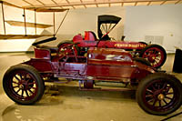 Winton race cars 1902 Bullet #1 and 1903 Bullet #2, built in Cleveland. Crawford Auto-Aviation Museum, Cleveland, Ohio