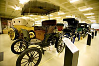 A 1904 Baker electric car at the Crawford Auto-Aviation Museum in Cleveland, Ohio.