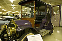 Mrs. Palmer's 1907 Studebaker-Garford in the heliotrope color she selected.