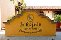 La Rojea, Cuervo's tequilla distillery in Tequila, Mexico.