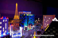 The Las Vegas Exhibit at Miniature Wunderland
