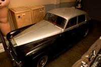 Cary Grant's Silver Cloud III at the Hollywood History Museum. Š Kayte Deioma