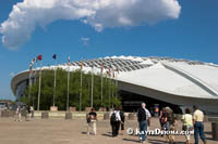 The Biodome now occupies the velodrome from the 1976 Summer Olympics in Montreal. Š Kayte Deioma