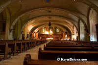 The Crypt Church at St. Joseph's Oratory, Montreal. Š Kayte Deioma