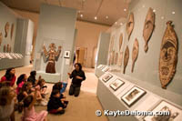 The &quot;Hello, Met!&quot; family program at the Metropolitan Museum of Art.