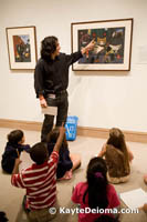 "The ""Hello, Met!"" family program at the Metropolitan Museum of Art."