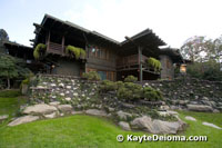 The back view of the Gamble House