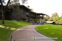 Front view of the Gamble House