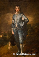 The Blue Boy by Thomas Gainsborough at the Huntington Library, Art Collections and Botanical Gardens