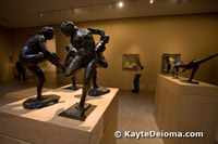 Degas modeles at the Norton Simon Museum