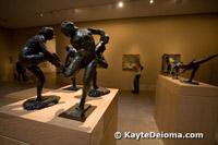 Degas modeles at the Norton Simon Museum