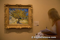 Van Gogh's Mulberry Tree at the Norton Simon Museum.