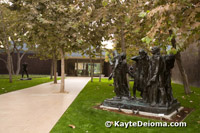 Rodin's Burghers of Calais at the Norton Simon Museum