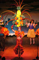 Amanda Blatchford as the Pineapple Princess Š SSPI 2005 David Allen