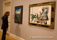 A Dali and a Picasso at the Legion of Honor