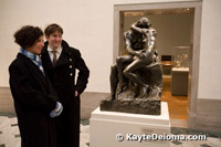 Rodin's The Kiss at the Legion of Honor in San Francisco