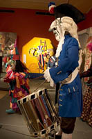 The CARNAVAL! exhibit at the Museum of International Folk Arts, Santa Fe, New Mexico.