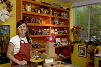 Kari Keenan of Chocolate Smith in Santa Fe, NM